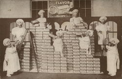 Bakers with Boxes of Cracker