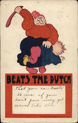 Woman Beating Child - Beats the Dutch