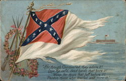 Confederate flag - Tuck & Son's Memorial Day series