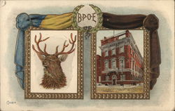BPOE Elk and Building