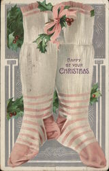 Happy Be Your Christmas with Stockings