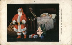 Santa and Sleeping Children