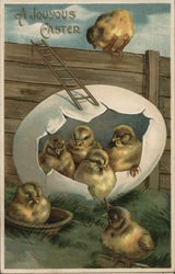 A Joyous Easter with Chicks Hatching