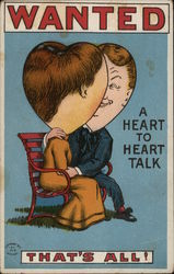 Wanted: A Heart to Heart Talk