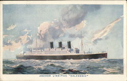 "Anchor Line - T.S.S. ""Caledonia"""