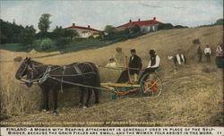 Finnish Farmers Reaping