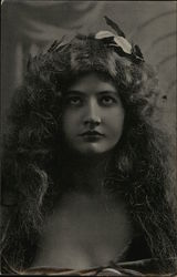 Woman with Laurel Wreath