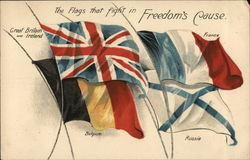 The flags that fight in Freedom's Cause