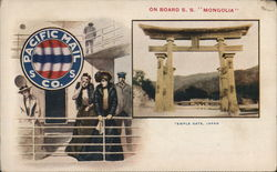 "On Board the S.S. ""Mongolia"""