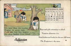 Boys and Girls returing to school - The Emporium Ad