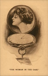 Picture of Woman in Watch Case