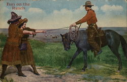 Fun on the Ranch with Cowboy and Cowgirls