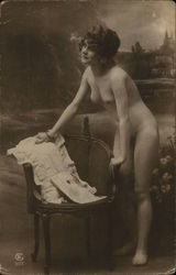 Nude Woman with Chair