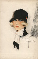 Painting of 1920s Woman