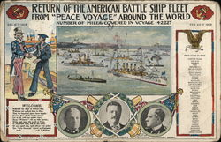 Return of the American Battle Ship Fleet