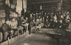 Interior of Barracks, POW Camp at Zeist, Netherlands