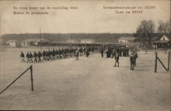 Soldiers at POW Camp Zeist