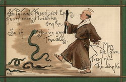 St. Patrick and Snakes