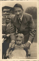 Adolf Hitler with Young Girl