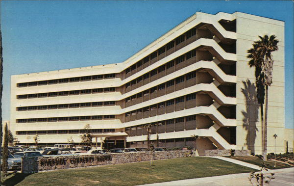 Riverside Community Hospital >> Riverside Community Hospital California Postcard