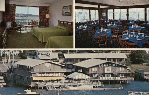 Rocktide Motor Inn Boothbay Harbor Maine