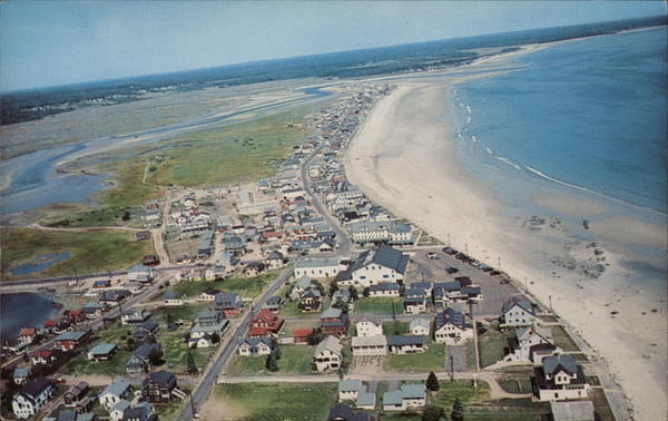 Air View Wells Beach Maine