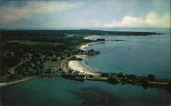 Airview of the Beaches Kennebunk Maine