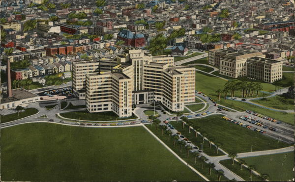 Air View, Veterans Hospital Albany New York
