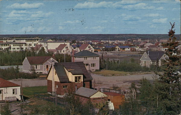 Yellowknife From Matonabbe Avenue West Indies Caribbean Islands