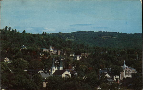 Aerial View Littleton New Hampshire