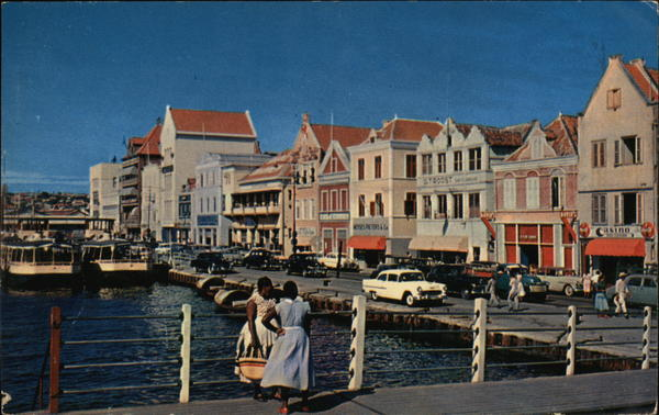 Handelskade Willemstad Curaçao Caribbean Islands