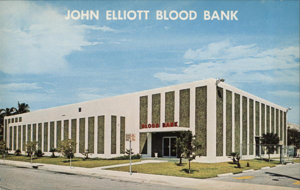 John Elliott Blood Bank, Inc. Biloxi Mississippi Advertising