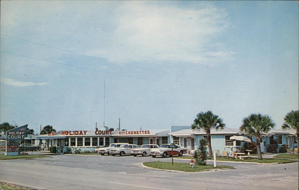 Holiday Court, The Birthplace of Southern Hospitality, 14 9th Street Saint Augustine Beach Florida