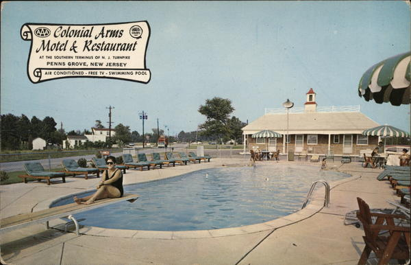 Colonial Arms Motel & Restaurant Penns Grove New Jersey