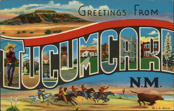 Greetings From Tucumcari, N.M. New Mexico