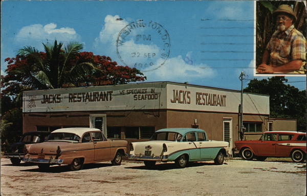 Jack's Place Sanibel Florida