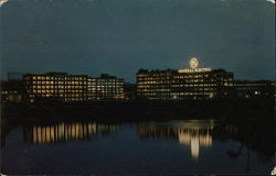Home of the General Electric Company Postcard
