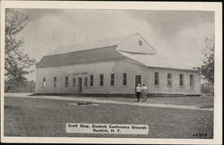 Craft Shop, Dunkirk Conference Grounds Postcard
