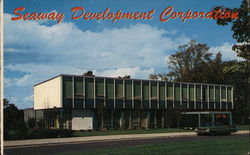 Seaway Development Company, Administration Building Postcard