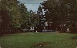 Epworth Inn at Silver Lake Institute Methodist training Center Postcard