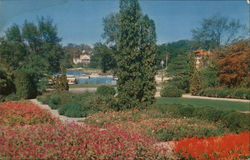 The Herman W. Merkel Memorial Garden at Glen Island Park