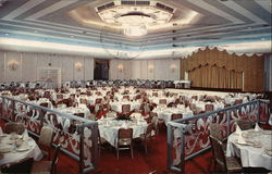 The Emerald Room of the Shamrock Hilton