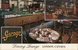 The Garage Dining Lounge London, Canada
