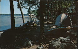Lake pemaquid Camping