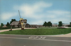New Plaza Motel Postcard