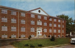 The Men's New Dormitory of Georgetown College