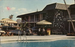 Delta Downs Motor Inn Postcard