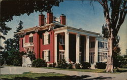 The Idle Hour Mansion Postcard