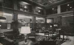 Sir Walter Hotel Lobby