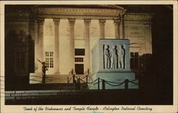 Tomb of the Unknowns and Temple Facade, Arlington National Cemetery